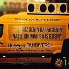 Ak Parti Manisa Seçim Aracı Ses Sistemi