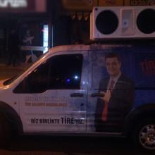 Ak Parti Tire  Seçim Arabası Seslendirme Sistemleri