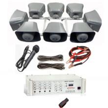 Araç üstü paket ses sistemi 12(Araç üstü mıknatıslı ses sistemi 8 hoparlör)