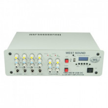 WEST SOUND TKS 400 M USB DC 12V Seçim Arabası anfisi