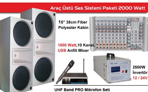 Seçim Aracı Ses Sistemleri