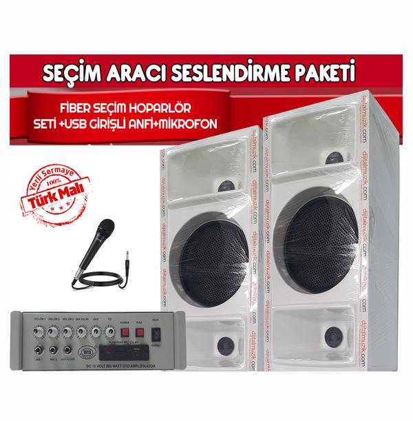 Dmm Tk38 Seçim Aracı Ses Sistemi Paketi
